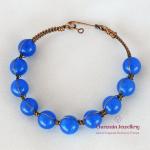 Set Blue Dyed Quartz (Blue)