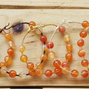 Carnelian Wirebangle
