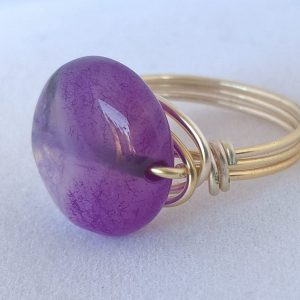 Ring Blue Agate