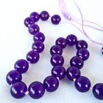 Quartz Purple (dyed) Necklace