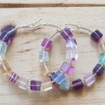 Fluorite Cubes Wirebangle