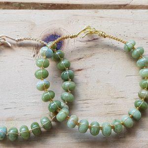 Nephrite (Jade) Wirebangle