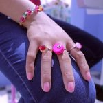 Ring Pink Agate