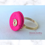 Ring Pink Howlite