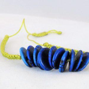 Bracelet Blue Howlite
